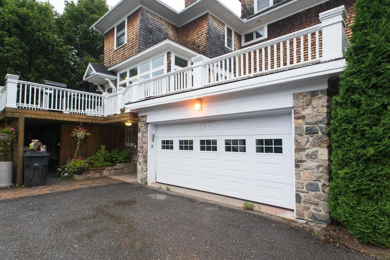 to typical steel residential garage door single or double wide